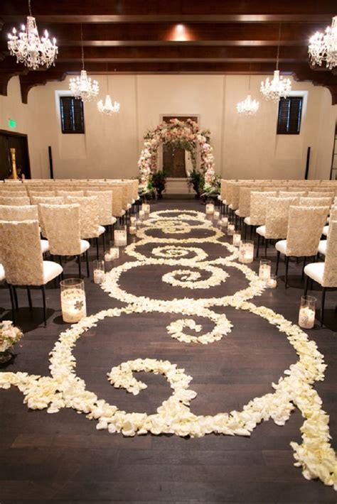 Wedding Aisle Flower Petal Designs by Beautiful And Petal Wedding Aisle Runners