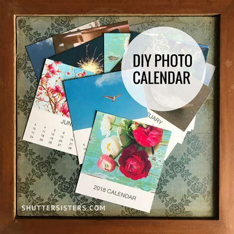 Diy Photo Calendar 2017