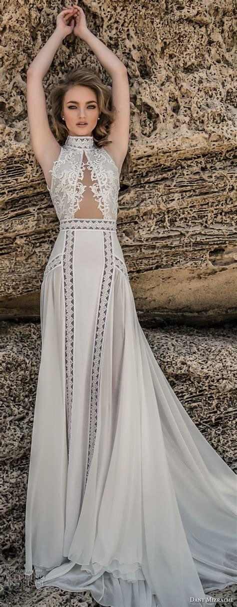 Chapel Wedding Dress by Dany Mizrachi 2018 Wedding Dresses Chapel Bodice