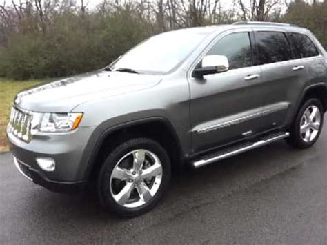 grey jeep grand cherokee sold 2011 jeep grand grand cherokee overland summit 4x4