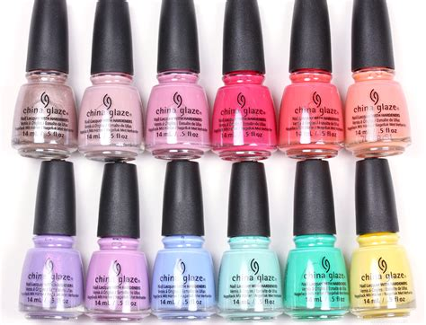 china glaze nail colors china glaze nail color swatches hession hairdressing