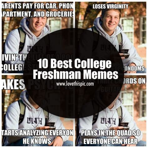 Freshman Memes - 10 best college freshman memes