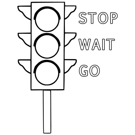traffic sign coloring pages getcoloringpages com