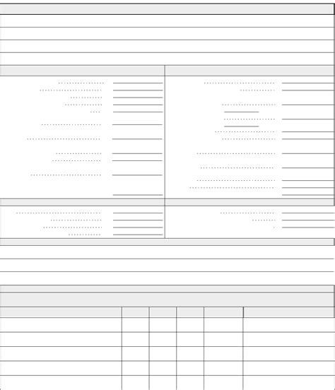 blank financial statement template the blank financial statement can help you make a