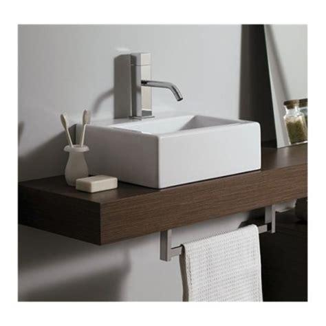 mensola per lavabo da appoggio piano mensola per lavabo d appoggio in legno in vari colori mf