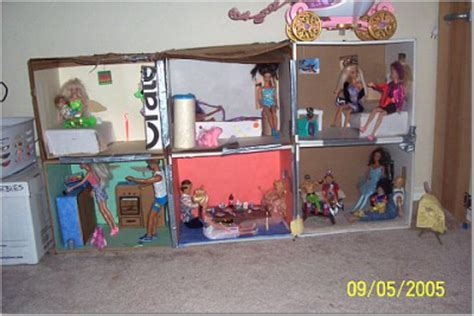 how to build a barbie doll house out of wood dollhouse furniture with everyday objects thriftyfun