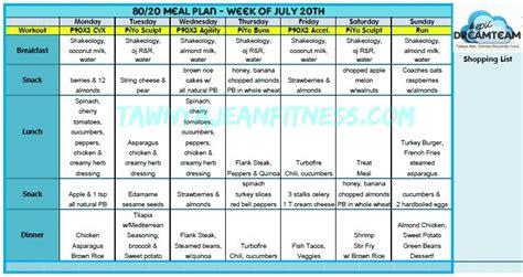 80 20 Food Detox Program Pdf by Meal Ideas Momma T Fitness