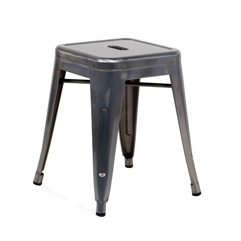 replica tolix counter stool with backrest tolix bar stool gunmetal replica tolix bar stool 66cm