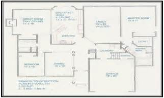 floor plans for my home free house floor plans and designs design your own floor