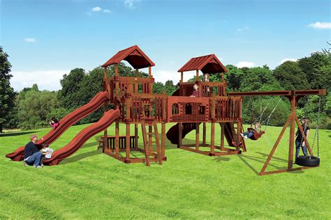 swing kingdom rl 1 adventure best kids backyard playset swing kingdom