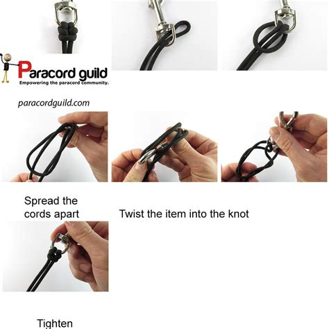 how to tie a knot for a rope swing how to tie a cat s paw knot paracord guild
