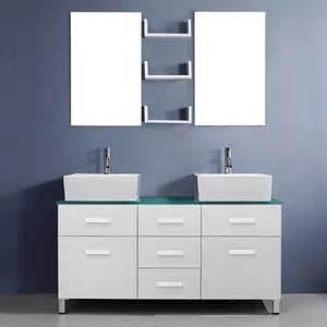 56 bathroom vanity sink virtu usa maybell 56 quot modern sink bathroom vanity