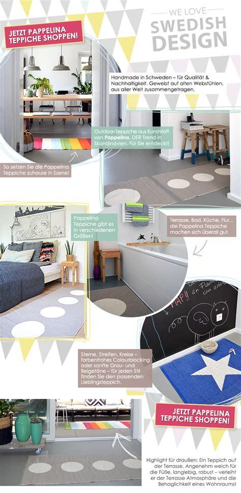 teppiche aus schweden neuer wohn trend pappelina teppiche aus schweden