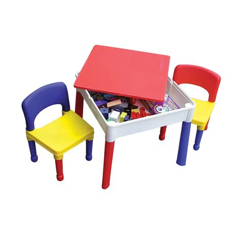 activity table and chairs