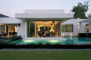 modern bungalow house stylish and modern dinesh mills bungalow by atelier dnd