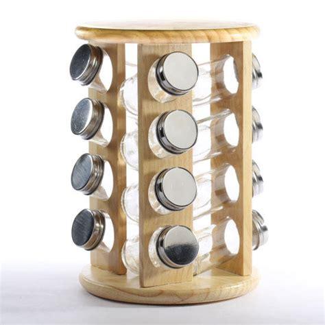 Circular Spice Rack revolving wood spice rack new items
