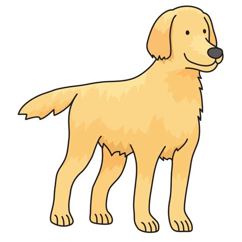 golden retriever clip clipart golden retriever