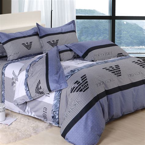 blue comforters queen size fashion luxurious 4pcs queen size 100 cotton schoolboy
