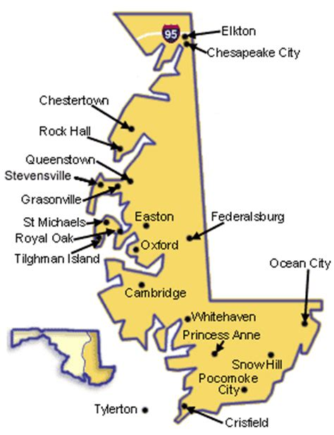 map maryland eastern shore towns paddle inns on maryland s eastern shore gonomad travel