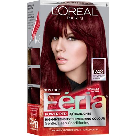 loreal virtual hairstyles feria red of feria red hair color dagpress com