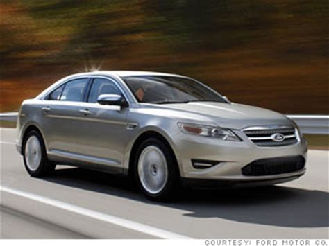 16 'best resale value' cars full size car: ford taurus