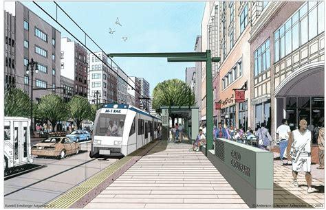 Detroit Light Rail by Detroit S M 1 Rail Streetcar A Next City Explainer Next