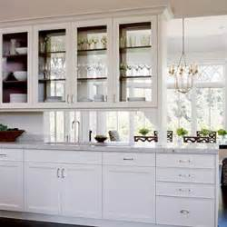 Glass Cabinets Kitchen Walls Windows Interior Design Use Of Glass In Kitchen Cabinets