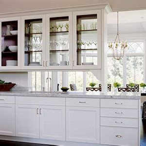 glass kitchen wall cabinets walls windows interior design use of glass in