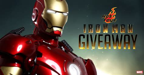 Marvel Giveaway - iron man mark iii marvel giveaway sideshow collectibles