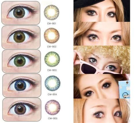 Softlens More Tosca geo tri color world series circle lenses from eyecandy s