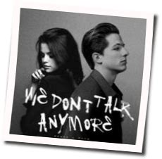 charlie puth we don t talk anymore chord charlie puth we don t talk anymore ver 2 guitar chords