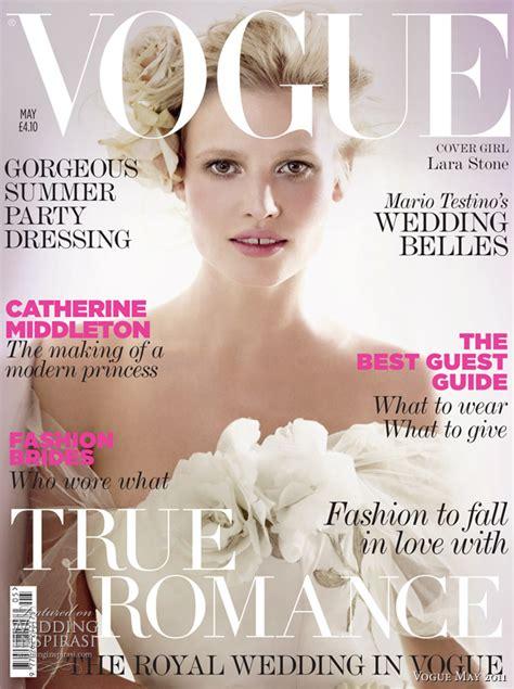 Wedding Dress Magazines by Vogue Magazine Wedding Special 2011 Unique Magazines
