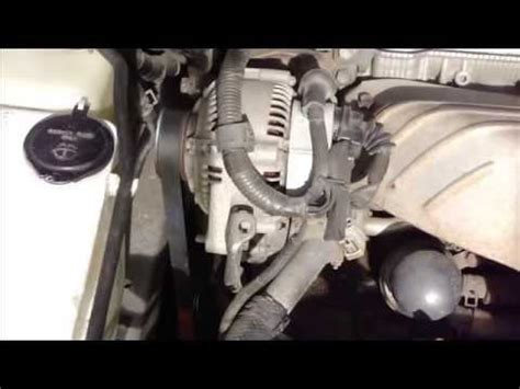 how to replace drive belt. toyota camry. years 1991 to