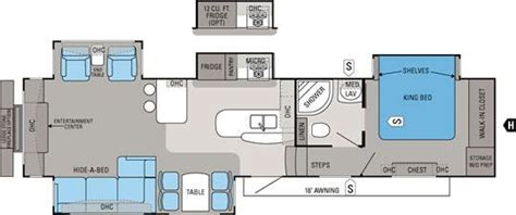 pinnacle 5th wheel floor plans 2013 jayco pinnacle 36reqs fifth wheel northside rvs