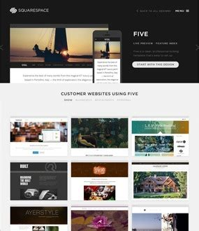 Squarespace Templates by Squarespace Templates Review How Their Designs Can Help You