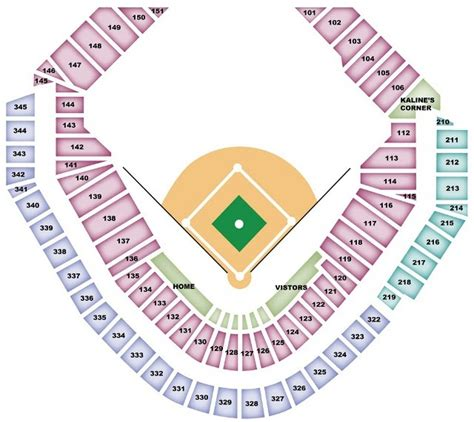 tiger seating detroit tigers seating chart tigersseatingchart