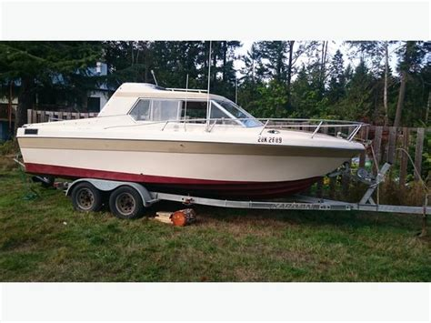 1977 Reinell Cabin Cruiser by 1977 22ft Reinell Duncan Cowichan Mobile