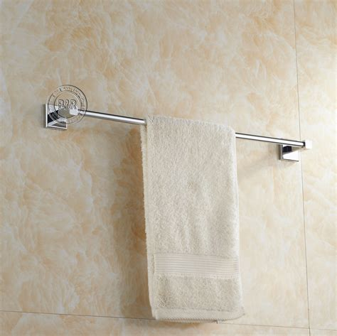 Bathroom Towel Bars And Accessories Free Shipping Bath Towel Rack Bathroom Accessories Products Chrome Towel Bar Towel Holder Br