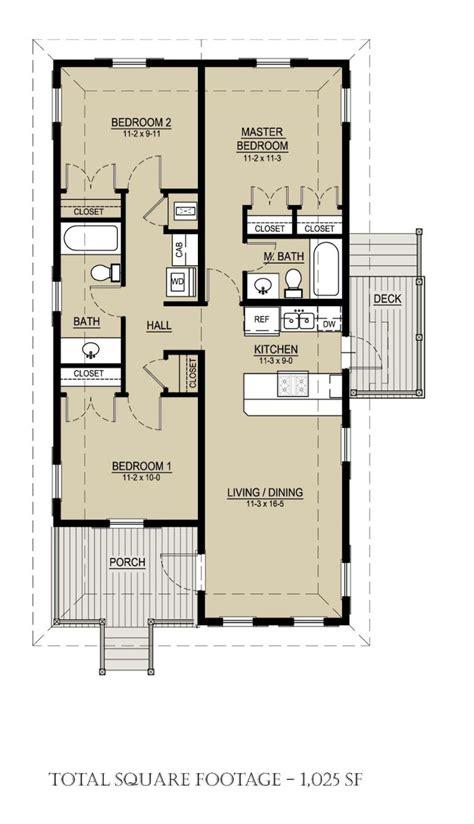Floor Plan 3 Bedrooms 1025 Square Feet 3 Bedrooms 2 Batrooms On 1 Levels