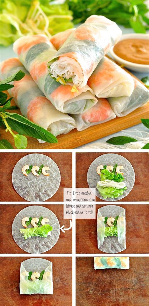 How To Make Rice Paper - 25 best ideas about rolls on