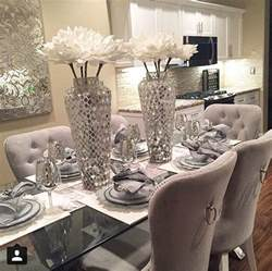 Decorating Ideas For Dining Room Tables Best 25 Glass Dining Room Table Ideas On Glass Dining Table Glass Dining Room Sets