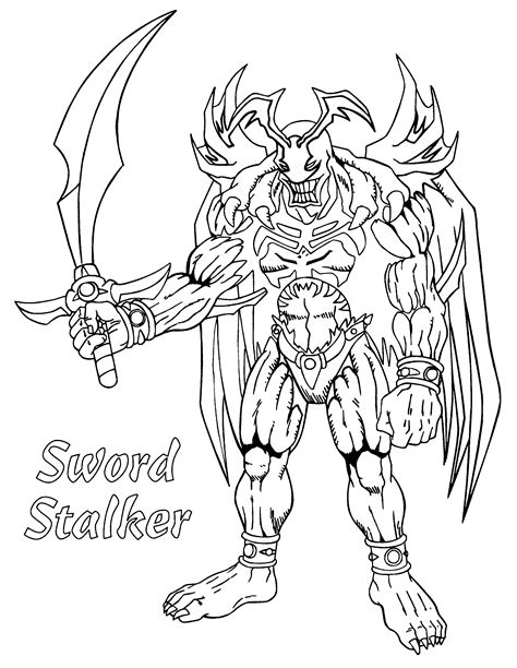 coloring pages yugioh coloring page yu gi oh coloring pages 104