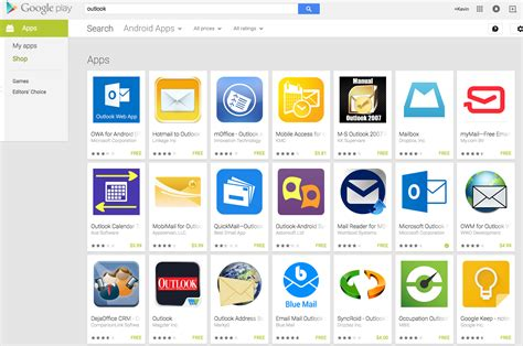 play store outlook gigaom why outlook for mobile is a hit on ios and a miss