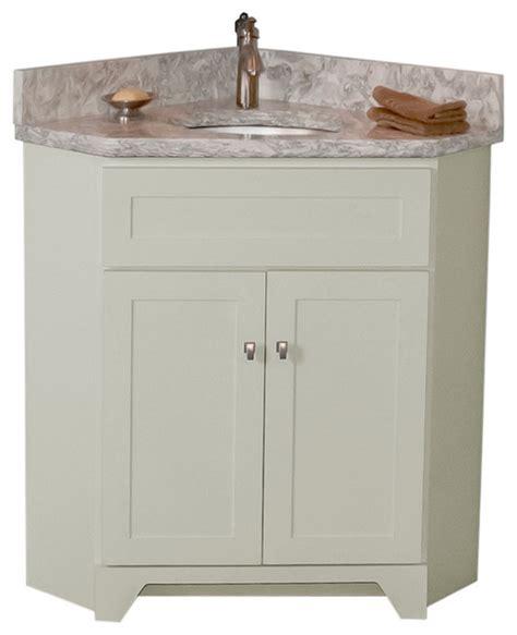Woodpro Vanities by Woodpro Corner Vanity With Cambria Quartz Top In Berwyn