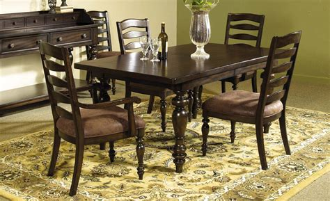pulaski dining room set desdemona dining room set w zoie chairs pulaski furniture