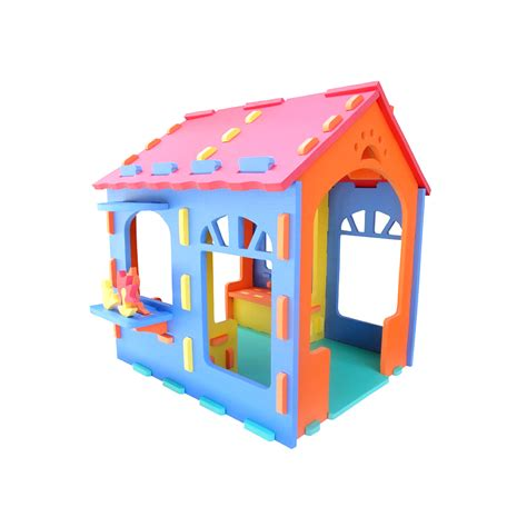 Puzzle House foam puzzle play house softfloor uk