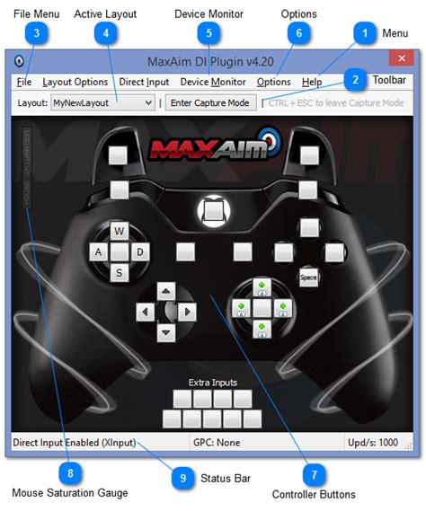 layout manager and menus consoletuner 187 basics and layout management