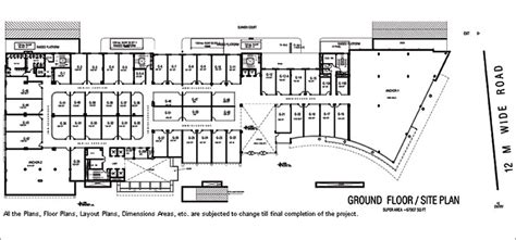 commercial complex floor plan floor plans of spaze palazo gurgaon spaze group