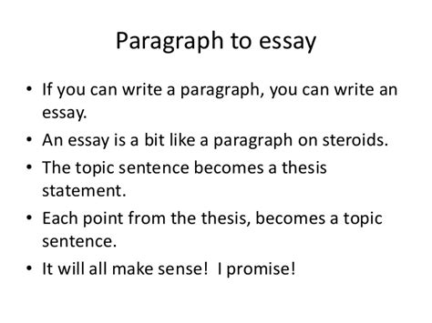 How To Write A 4 Paragraph Essay by Writing 4 Paragraph To Essay