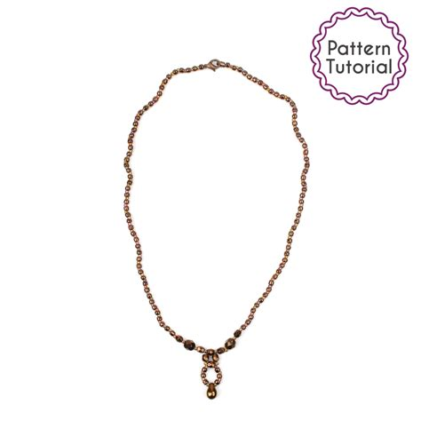 perth necklace pattern beading tutorial pdf seed